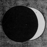 Image of a partial eclipse.