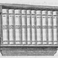 A small case with a set of books