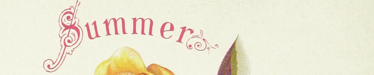 A cropped image with the word Summer.