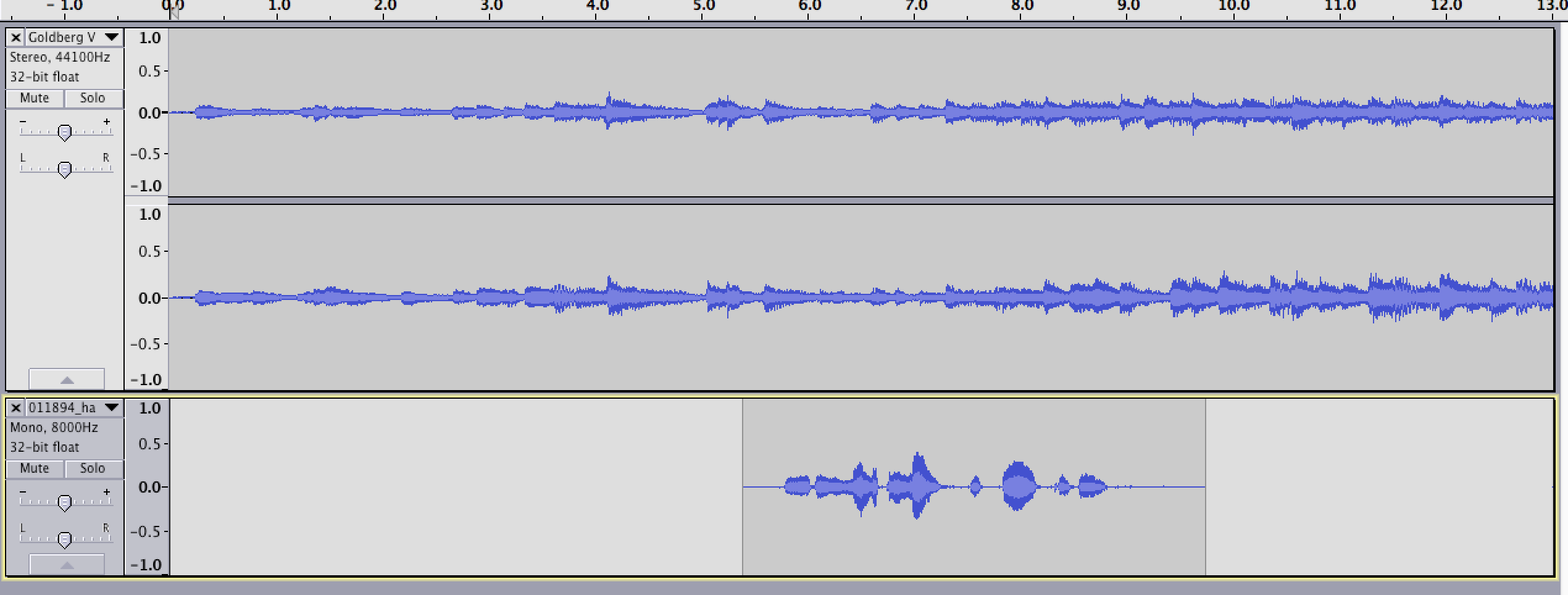 Editing Audio with Audacity | Programming Historian