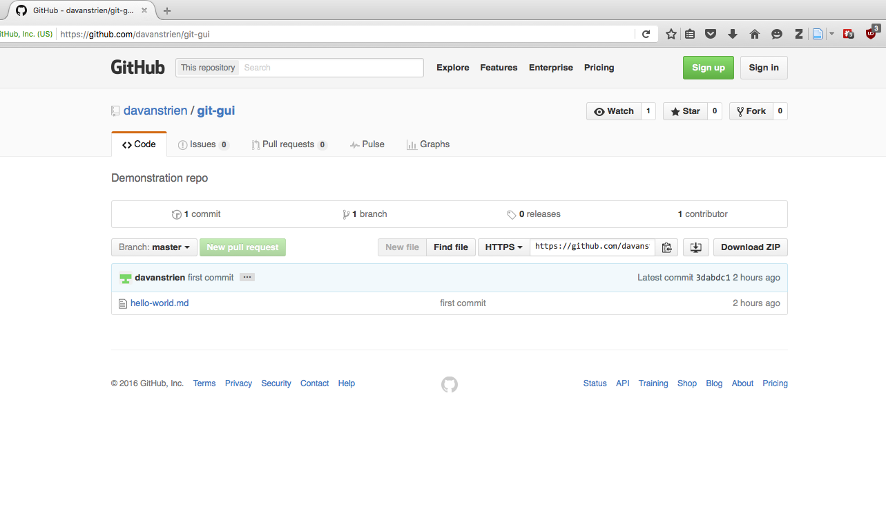 An Introduction to Version Control Using GitHub Desktop