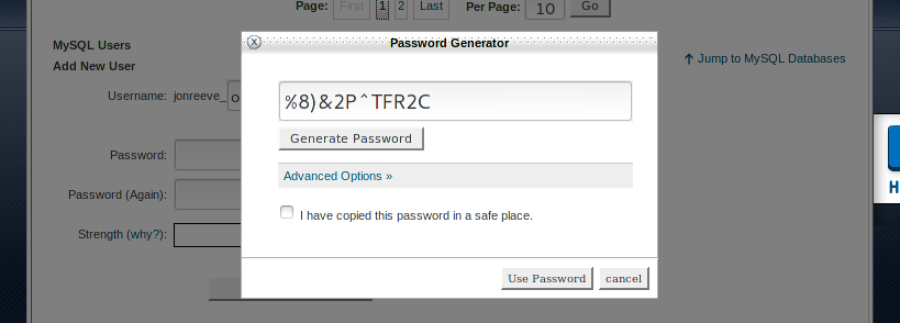 Generate Password