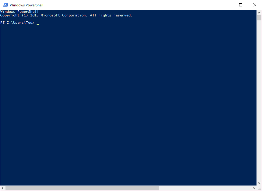 PowerShell on start up