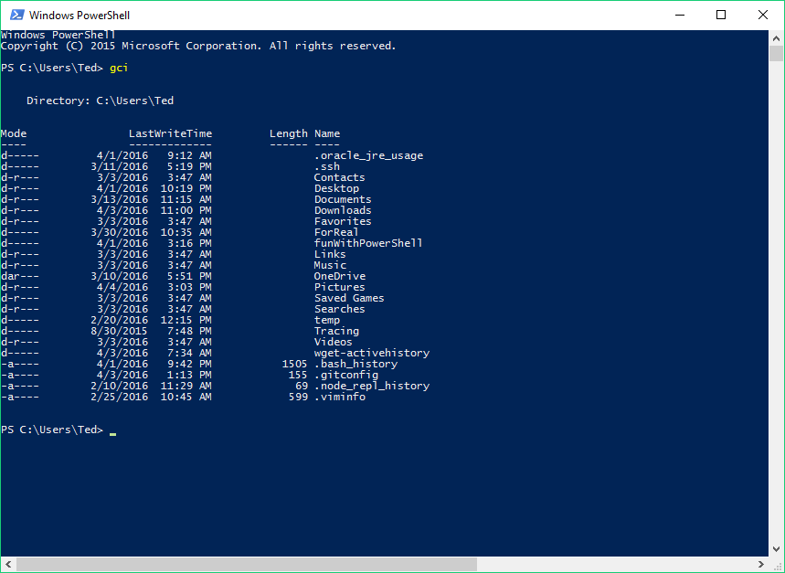 Introduction to the Windows Command Line with PowerShell