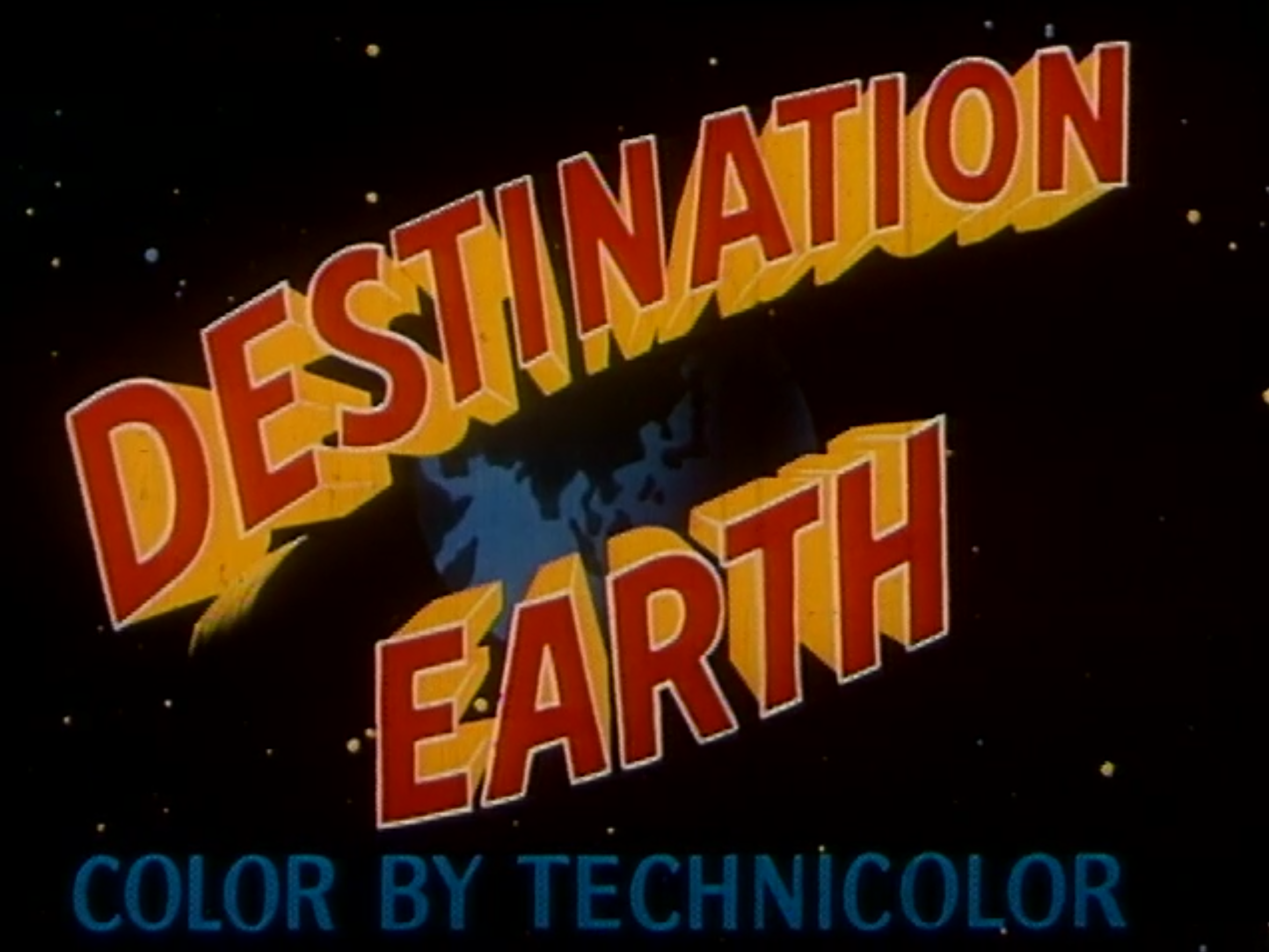 Destination Earth (1956)