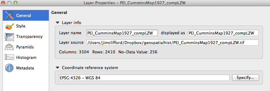 Installing QGIS 2 0 and Adding Layers | Programming Historian